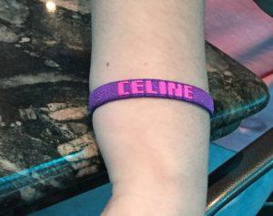 Celine's bracelet
