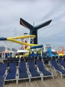 Carnival Imagination slide