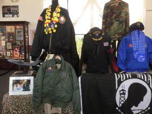 Military shows memorabilia