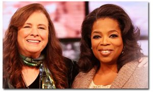 Jean Houston with Oprah Winfrey