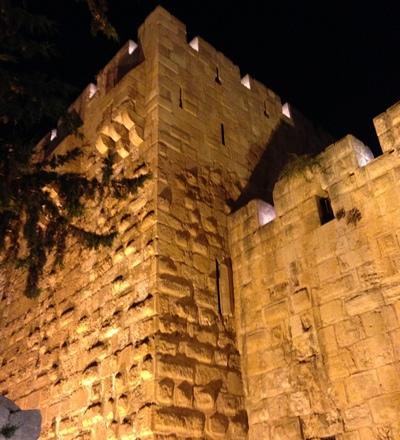 Jerusalem, The Old City at Night