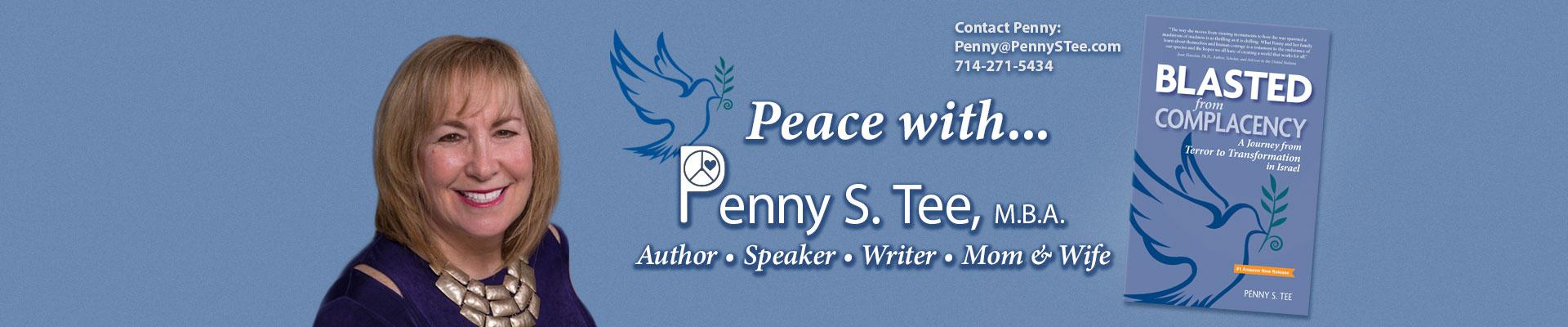 Penny S. Tee, Author, Speaker, Writer